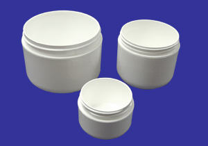 Plastic Jars round bottom