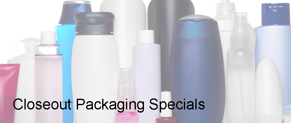 Closeout Packaging Specials